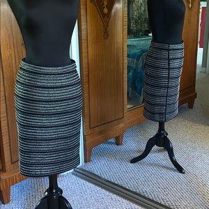 Beaded Black Skirt by Club Monaco approx XS 0 2